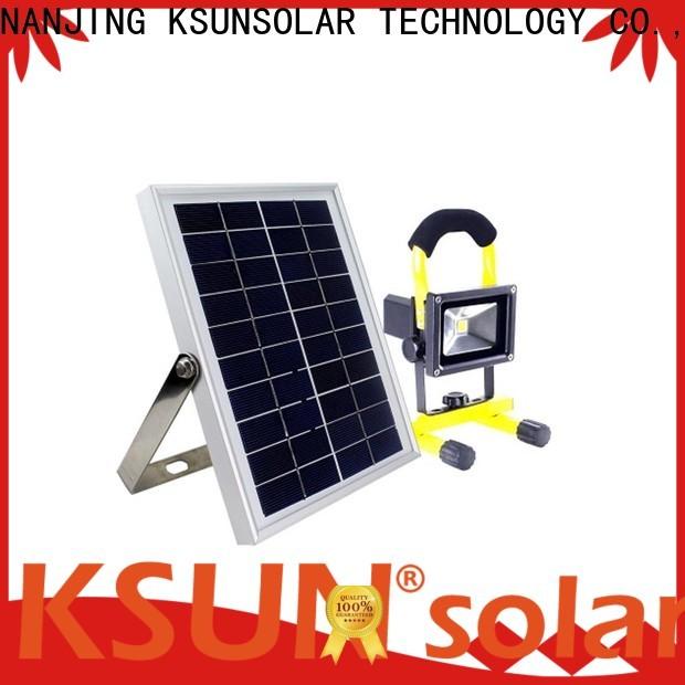 Latest solar powered flood lights LED solar power light company for Environmental protection