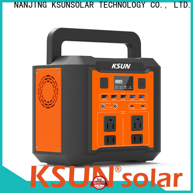 KSUNSOLAR Wholesale portable solar bank for business for Power generation