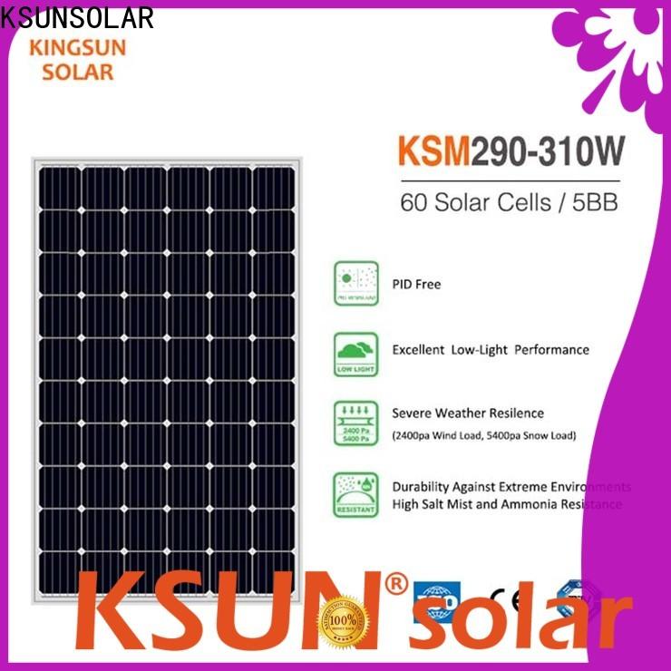 KSUNSOLAR best monocrystalline solar panel brands For photovoltaic power generation