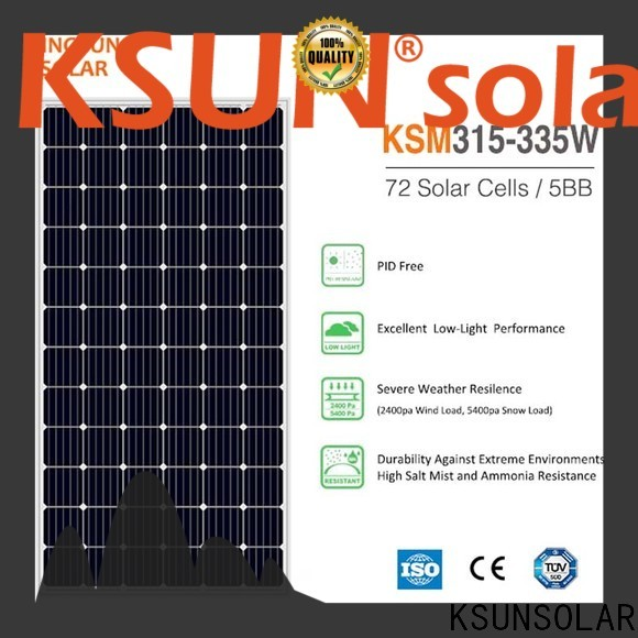 Latest solar panel modules for Environmental protection