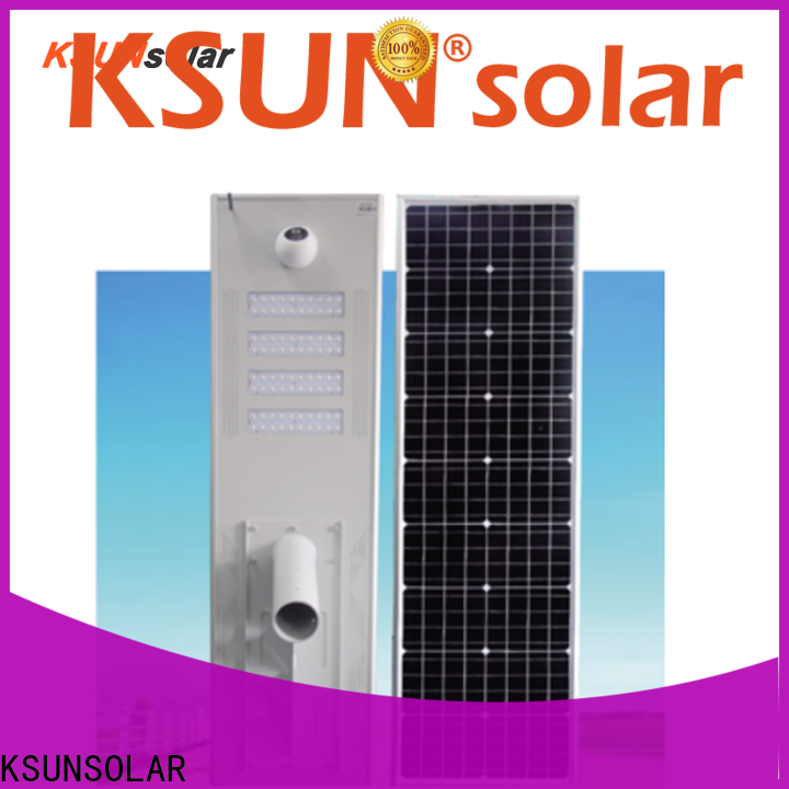 KSUNSOLAR solar powered led lights outdoor factory for Energy saving