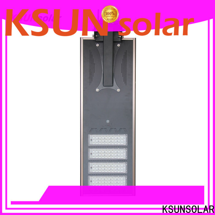 KSUNSOLAR solar powered street lamps Suppliers for Power generation