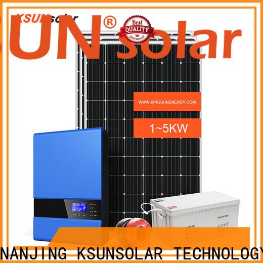 KSUNSOLAR off-grid solar power system For photovoltaic power generation