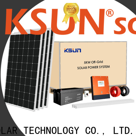 KSUNSOLAR Wholesale solar system products manufacturers For photovoltaic power generation