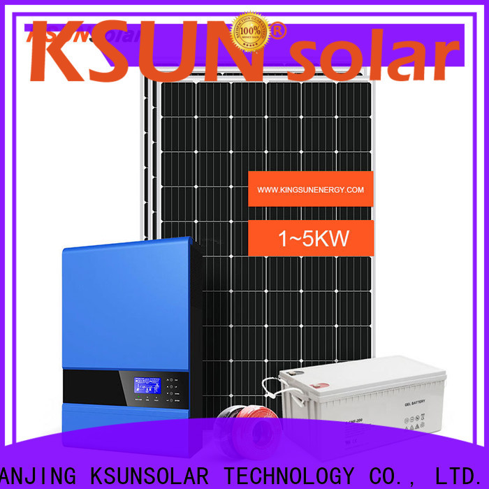 KSUNSOLAR off grid solutions for business For photovoltaic power generation