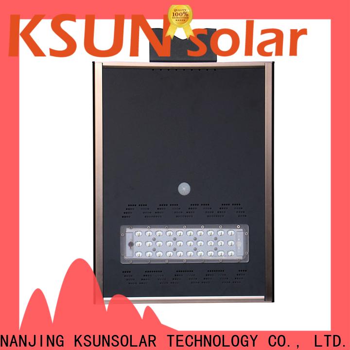 KSUNSOLAR solar powered street lights Suppliers for Environmental protection