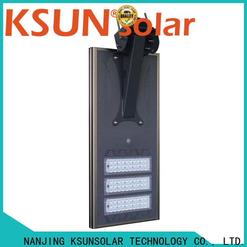KSUNSOLAR solar powered street lights for business for Environmental protection