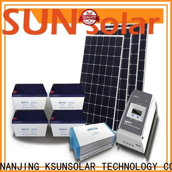 KSUNSOLAR Custom off grid solar system for business For photovoltaic power generation