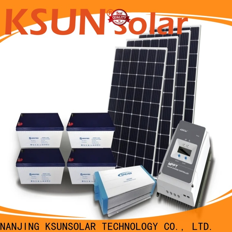 KSUNSOLAR solar system equipment company for Power generation