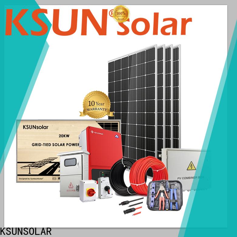 KSUNSOLAR Best best home solar power systems factory for Energy saving