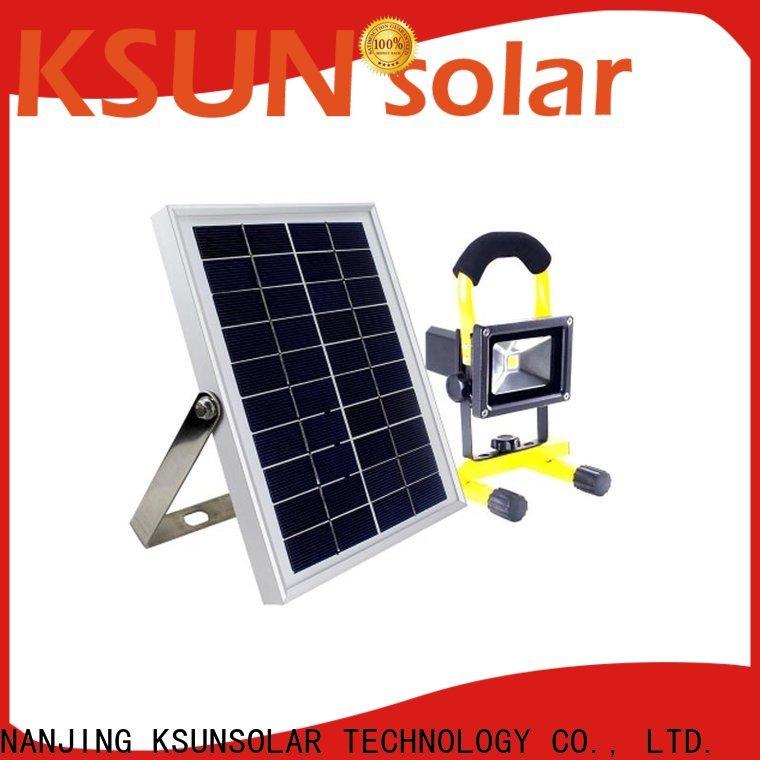 KSUNSOLAR Best LED solar power lights for Environmental protection