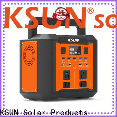 KSUNSOLAR New portable power station price For photovoltaic power generation