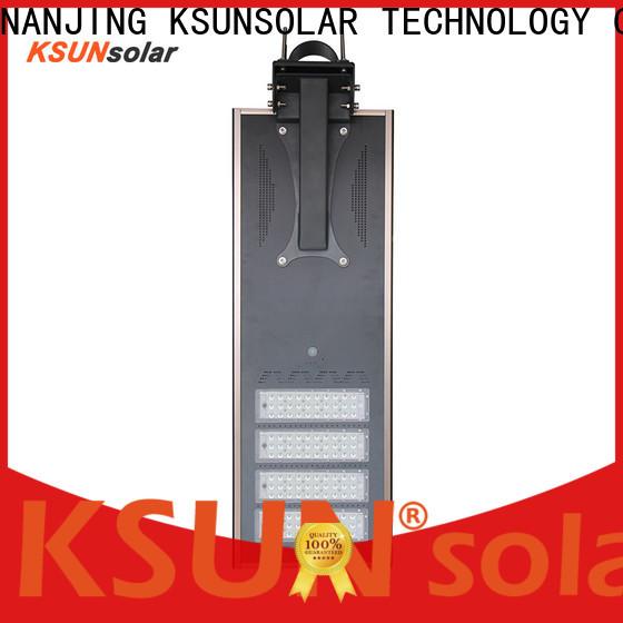 KSUNSOLAR Top solar led lighting system company for Energy saving