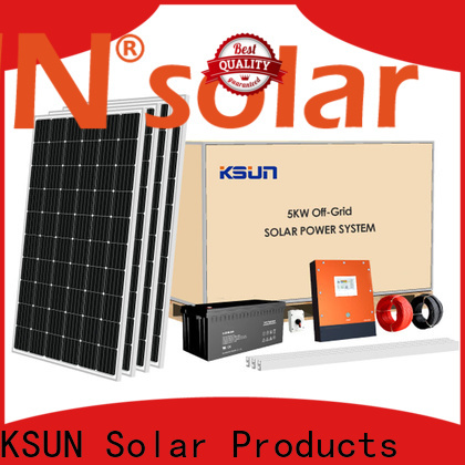 KSUNSOLAR solar energy system Suppliers For photovoltaic power generation