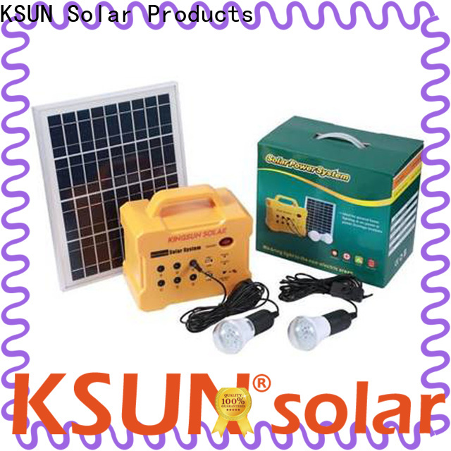 KSUNSOLAR best rated portable power station factory For photovoltaic power generation