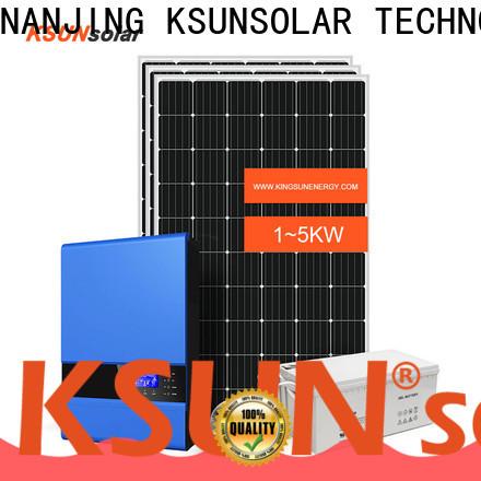 KSUNSOLAR Custom off grid solar energy systems factory for Energy saving