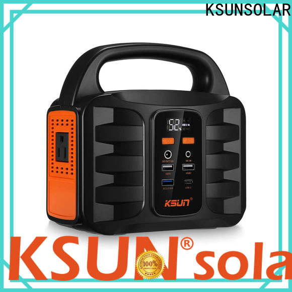 KSUNSOLAR High-quality portable solar power system manufacturers for Environmental protection