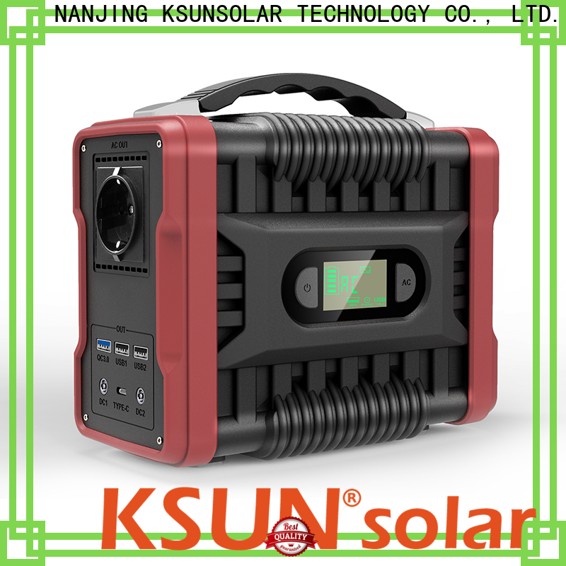 KSUNSOLAR portable rechargeable power supply manufacturers for powered by