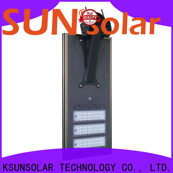 KSUNSOLAR Latest solar powered street lights manufacturers company for powered by