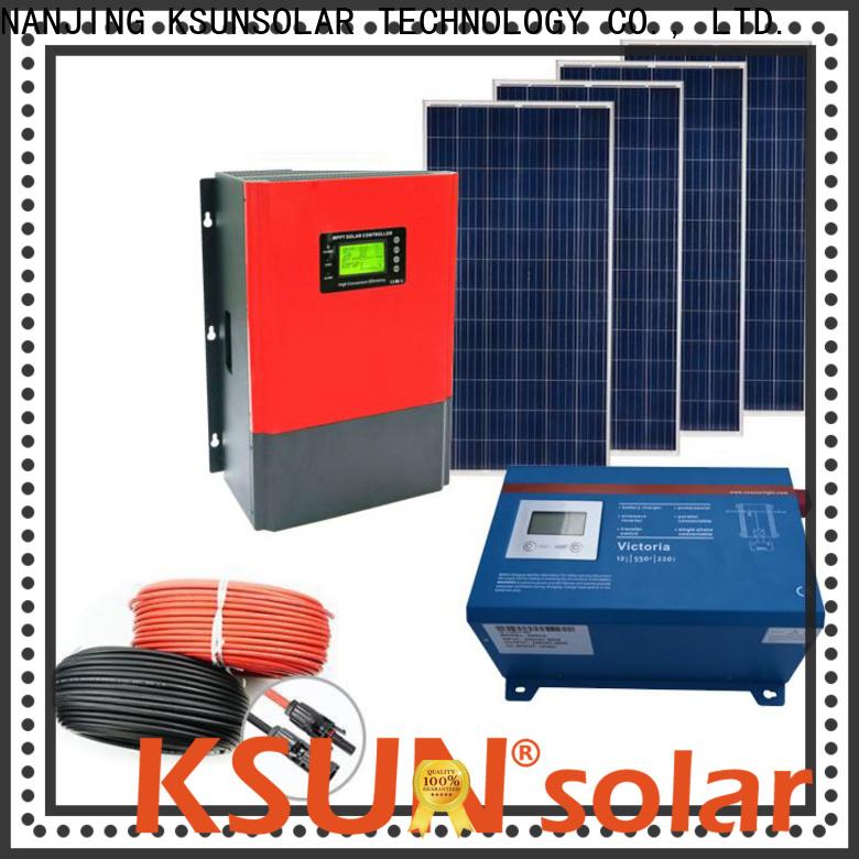 KSUNSOLAR solar power energy system for Environmental protection