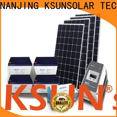 KSUNSOLAR off grid solar solutions company for powered by