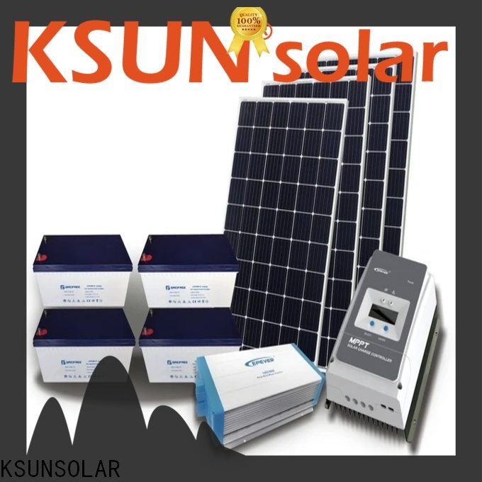 KSUNSOLAR hybrid solar system price Supply for powered by