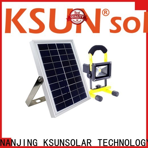 High-quality outdoor solar led flood lights for business for Environmental protection