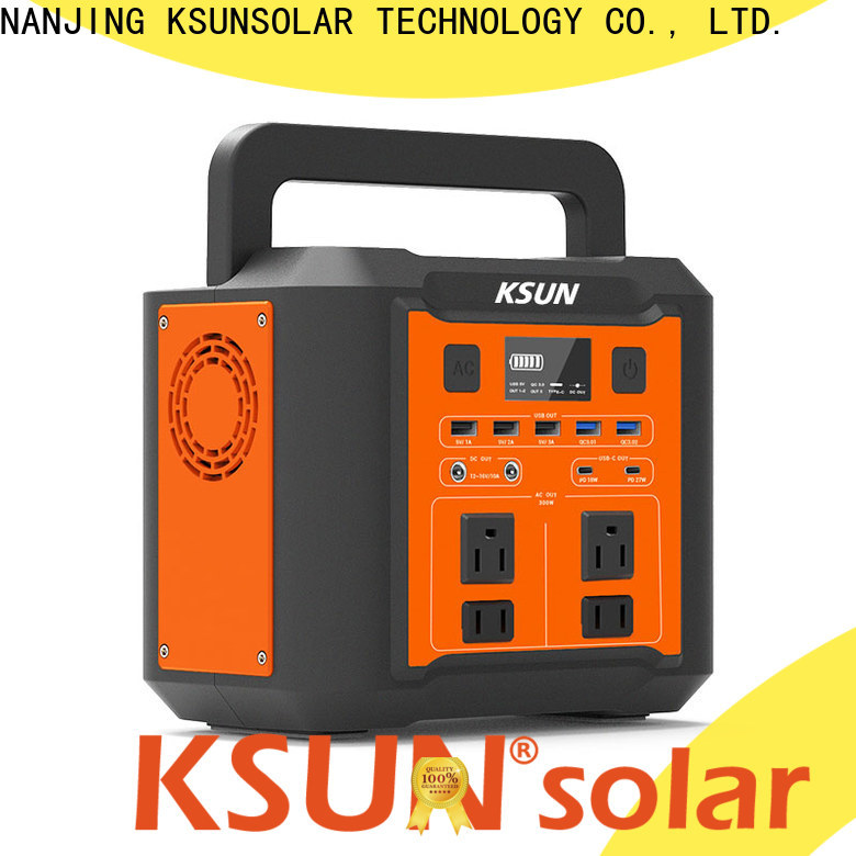 KSUNSOLAR Top portable power station solar generator company for Power generation