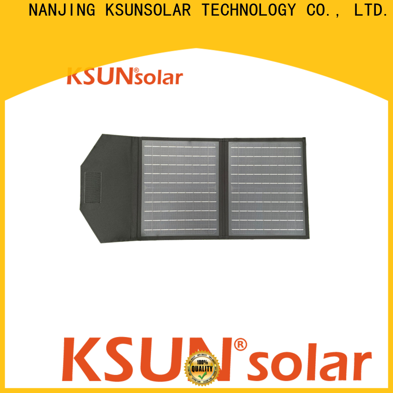 KSUNSOLAR portable solar power charger Supply for Power generation