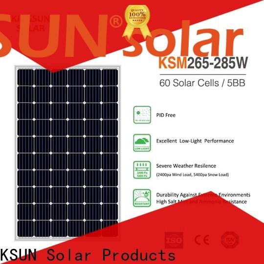 Top cheap monocrystalline solar panels for Power generation