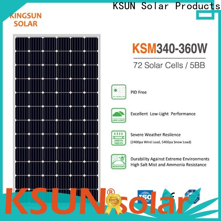 New photovoltaic module for business for Energy saving