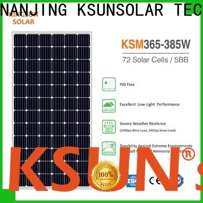 KSUNSOLAR home solar panel systems factory for powered by