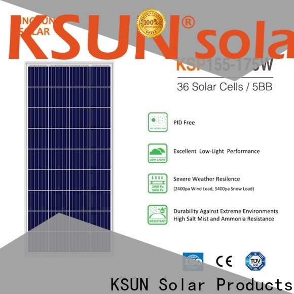 KSUNSOLAR solar power solar panels manufacturers for Energy saving