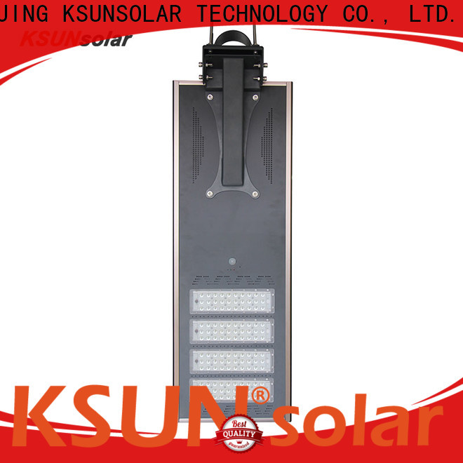 KSUNSOLAR Wholesale solar powered street lights china manufacturers for Environmental protection