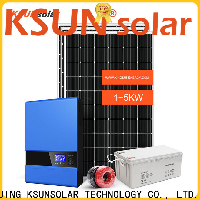 KSUNSOLAR Top solar panels for off grid home for business for Environmental protection