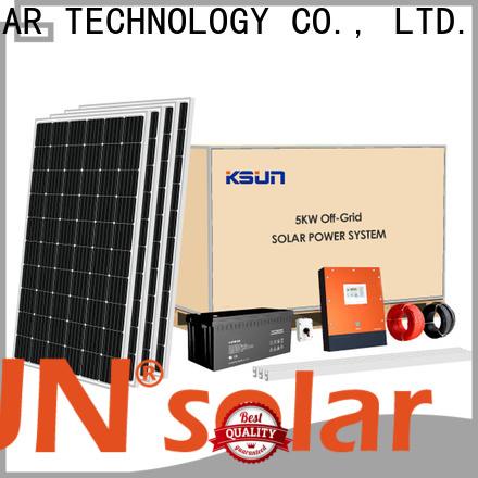 KSUNSOLAR solar power systems for sale for business for Energy saving