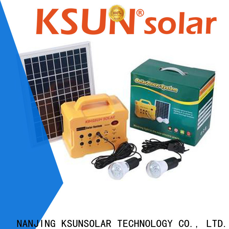Top portable power source factory For photovoltaic power generation