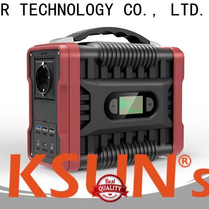 KSUNSOLAR Best portable solar bank for Environmental protection