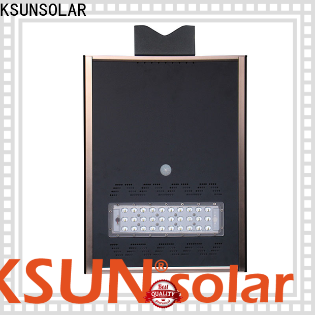 KSUNSOLAR solar powered street lamp manufacturers for Environmental protection