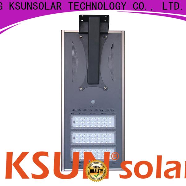 KSUNSOLAR Latest solar street light manufacturers for Environmental protection