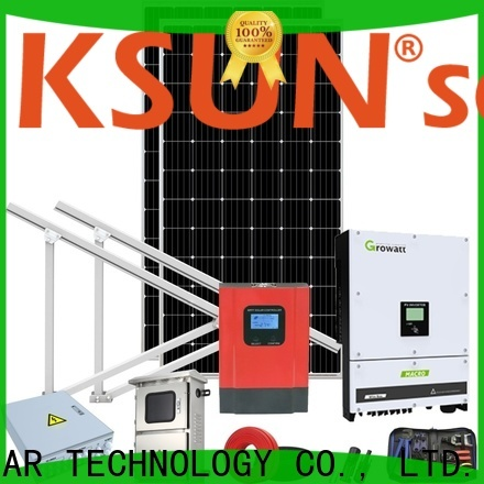 KSUNSOLAR best home solar power systems company for powered by