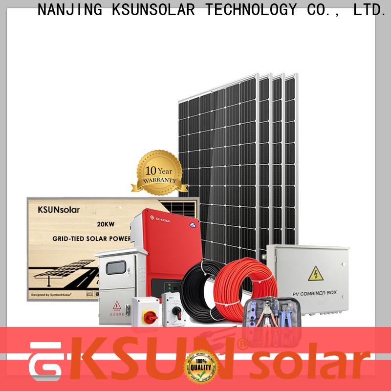 KSUNSOLAR best solar power system Supply for Environmental protection