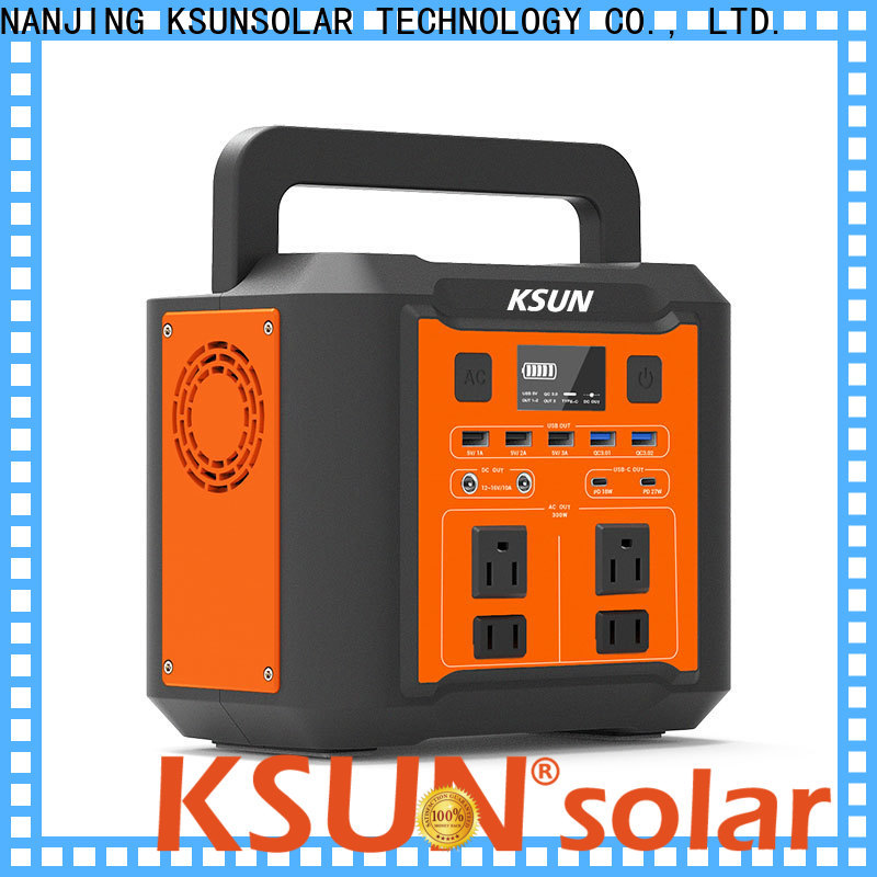 KSUNSOLAR New portable power station for sale for business for Power generation
