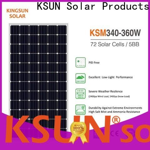 KSUNSOLAR solar module Suppliers For photovoltaic power generation