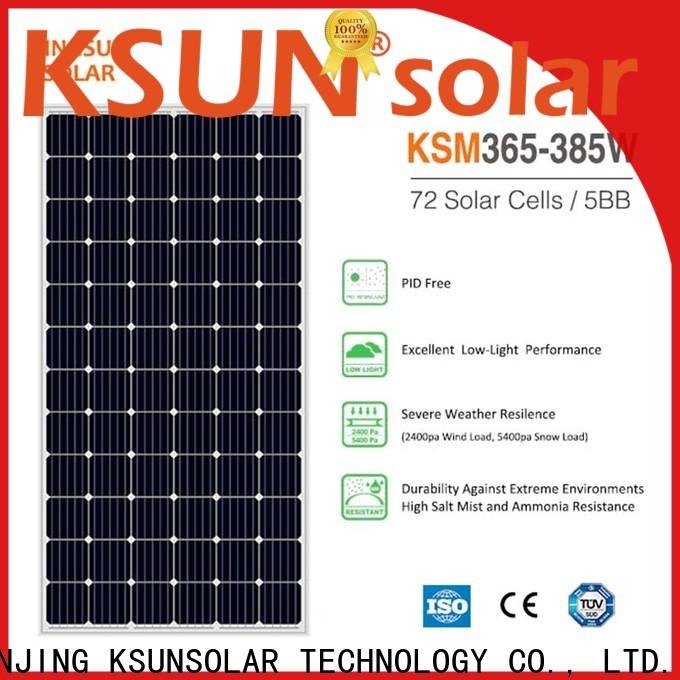 KSUNSOLAR commercial solar panels for business for Power generation