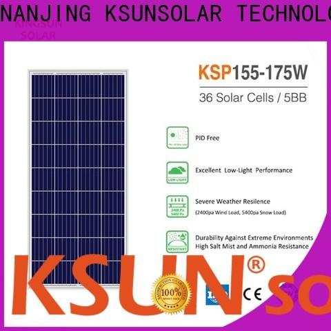 KSUNSOLAR solar cells and panels for Environmental protection