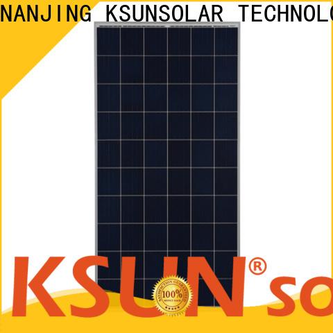 KSUNSOLAR Custom polycrystalline solar panels for sale Supply for Environmental protection
