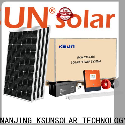 KSUNSOLAR solar energy system company for Power generation