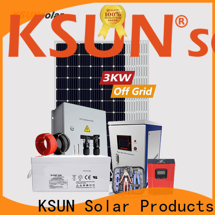 KSUNSOLAR off grid solar systems for sale for powered by