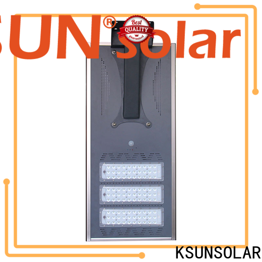 KSUNSOLAR solar street light system Supply For photovoltaic power generation